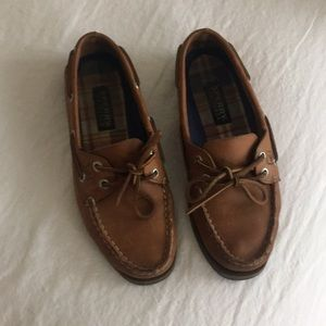 Sperry top-slider non-marking. EUC size 8M